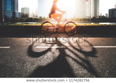 helmet worker men_city cycle Stock photo © toyotoyo