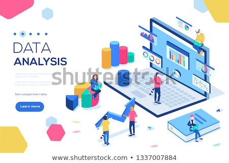 Big data job concept banner header. Stock photo © RAStudio