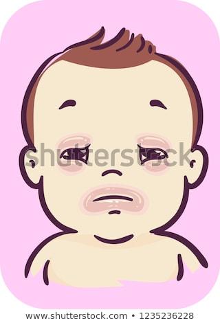 赤ちゃん 唇 実例 子供 少年 ストックフォト © lenm