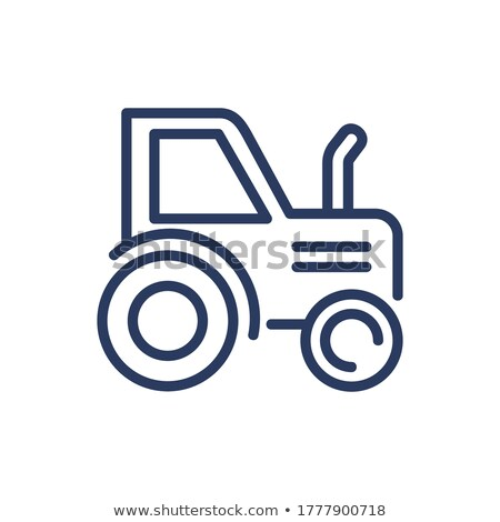 Maszyny rolniczy auto rustykalny wektora Zdjęcia stock © robuart
