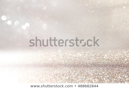 magic sparkling shiny glitter and glowing snow luxury winter ho stock photo © anneleven