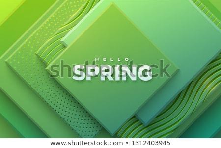 Зеленая композиция Сток-фото © maximmmmum