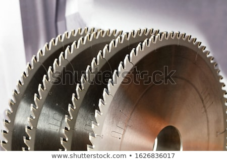 woodworking industry wood with circular saw Stock photo © LoopAll