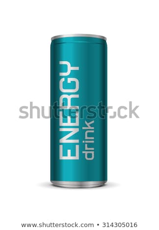 Aluminum Packaging For Beverages Photo stock © Elisanth