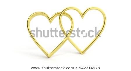 golden hearts 2 stock photo © marinini