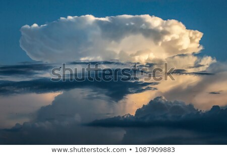 Cumulonimbus incus (Thunderhead) Stock photo © sbonk