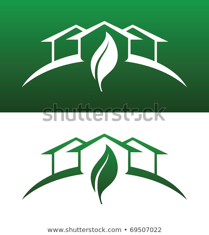 теплица иконки оба твердый экология рециркуляции Сток-фото © feverpitch