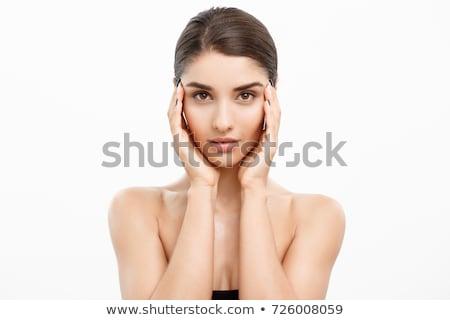 ブロンド · 少女 · 頬 · 美 · 適用 - ストックフォト © photography33
