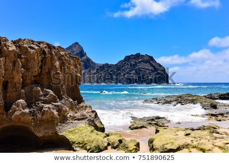 Ilheu de Baixo, Madeira islands Stock photo © Gbuglok