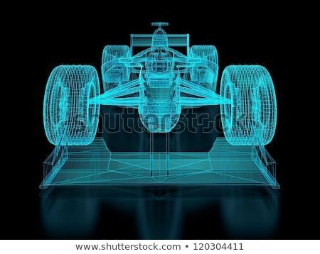 Stok fotoğraf: Formula One Mesh