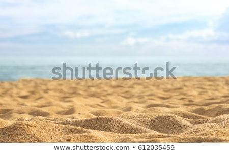 belo · macio · ondas · reflexão · quebrar · praia - foto stock © get4net