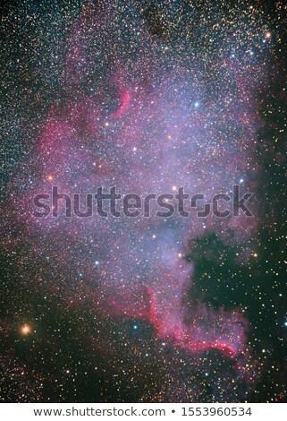 kuzey · Amerika · nebula · güneş · ışık · mavi - stok fotoğraf © rwittich