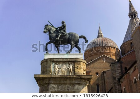 Medieval Bronze Warrior Stock photo © gavran333