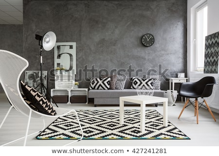 Black and White Interior Design Stock photo © limbi007