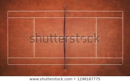 подробность теннисный корт спорт зеленый теннис мяча Сток-фото © leeser