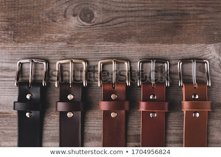 Colorful Cloth and Leather Belts Stock photo © rhamm