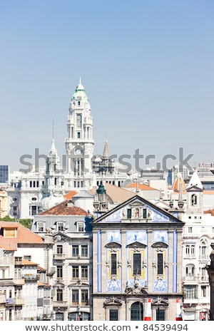 çeyrek Portekiz ev seyahat binalar kasaba Stok fotoğraf © phbcz