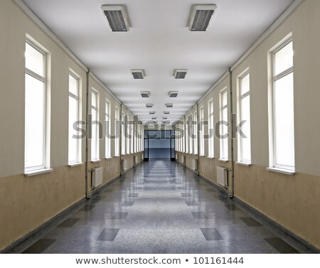 vazio · corredor · moderno · negócio · prédio · comercial · branco - foto stock © lunamarina