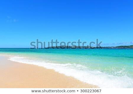 Güzel plaj yaz güzellik okyanus Stok fotoğraf © sunabesyou