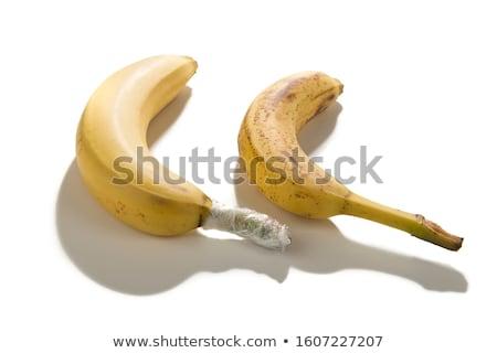 frescos · maduro · plátano · aislado · blanco · alimentos - foto stock © brulove