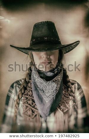 Gunslinger Girl Stock photo © rpcreative
