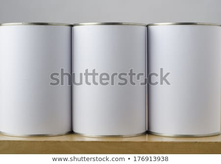 Tinned Food Cans - Options Stock photo © frannyanne