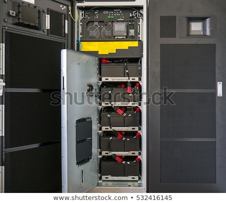 Uninterruptible Power Supply (UPS) Batteries Stock photo © leetorrens