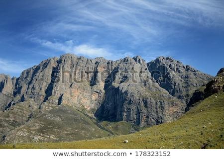 горные живописный выстрел дерево облака Сток-фото © kitch