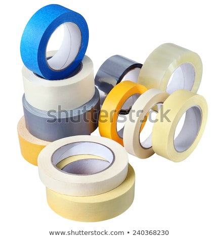 Large roll of masking or duct tape Stock photo © papa1266