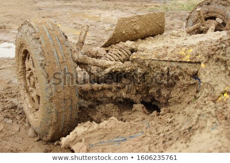 a very dirty muddy offroad car Stock photo © chrisga