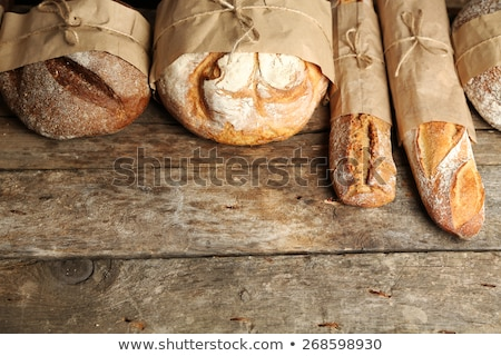 Pan frescos pan naturaleza vida Foto stock © raphotos