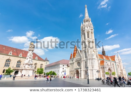 old budapest with matthias church stock photo © andreykr