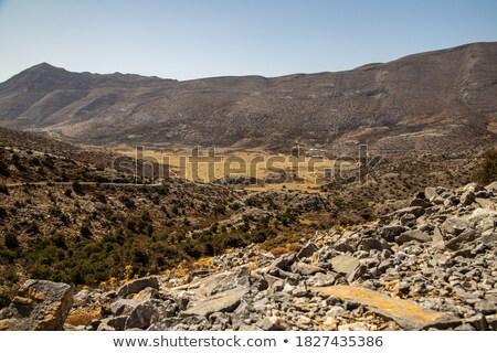 高原 午前 風景 自然 岩 パノラマ ストックフォト © igabriela