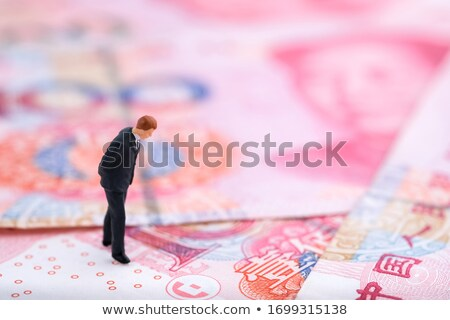 Chinese money with stock chart Stock photo © tangducminh