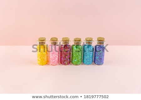 Vials stand in rows Stock photo © Pruser