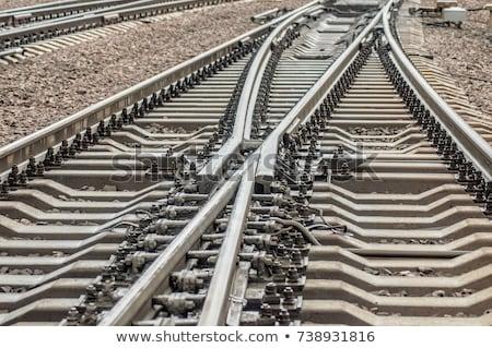 поездов · уголь · груза · железнодорожная · станция · пейзаж · фон - Сток-фото © oleksandro