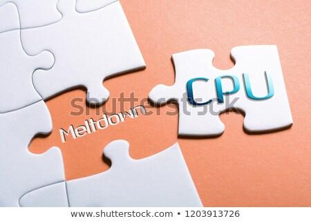 cpu · 3D · prestados · ilustração · componente - foto stock © tashatuvango
