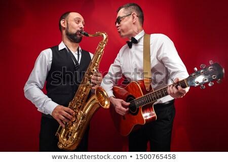 Jazz twee liefde verhaal romantische paar Stockfoto © Fisher