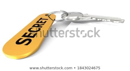 keys with word privacy on golden label stock photo © tashatuvango