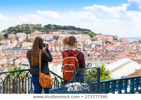 Lisbon touristic, Portugal Stock photo © joyr