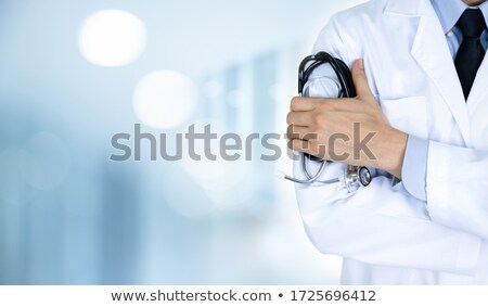 Diagnosis - SARS. Medical Concept with Blurred Background. Stock photo © tashatuvango