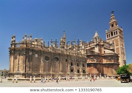 Santa Maria de la Sede Cathedral Stock photo © rmbarricarte