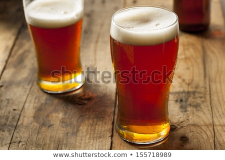 Glass of ale in pub Stock photo © Hofmeester