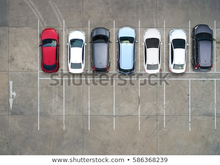 Parking voiture parking plein Photo stock © joyr