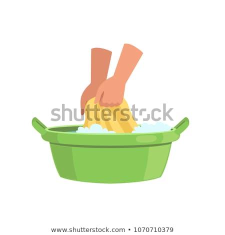Basin For Clothes Stock photo © netkov1