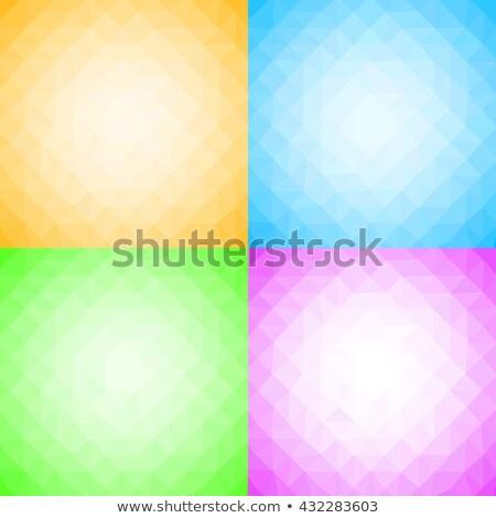 Ice · Cube · geïsoleerd · vector · schone · koud · kristal - stockfoto © samoilik