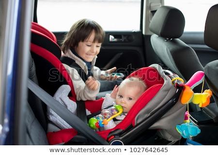 baby car seat stock photo © ozaiachin