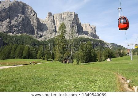 Vadi yüksek güney manzara dağ yaz Stok fotoğraf © Antonio-S