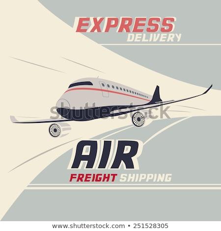 A vintage jetplane Stock photo © bluering