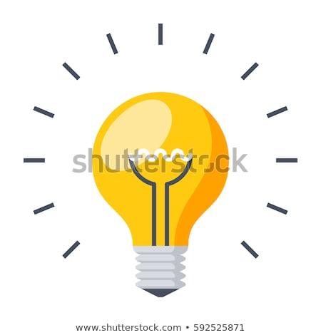 желтый вектора дизайна иллюстрация изолированный Сток-фото © RAStudio